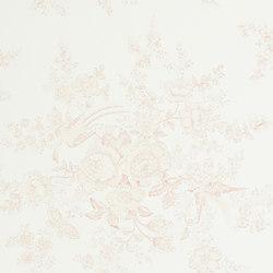 Signature Papers Wallpaper | Vintage Dauphine - Petal Pink | Revêtements muraux / papiers peint | Designers Guild