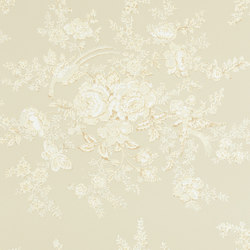Signature Papers Wallpaper | Vintage Dauphine - Laurel | Papeles pintados | Designers Guild