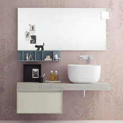 Summit 2.0 | Composition 01 | Bath shelving | Mastella Design