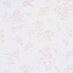 Signature Papers Wallpaper | Nature Study Toile - Blossom | Wall coverings | Designers Guild