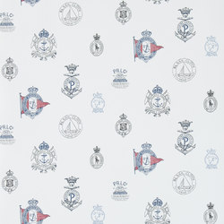 Signature Papers Wallpaper | Rowthorne Crest - Captain | Wandbeläge / Tapeten | Designers Guild