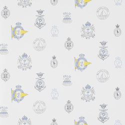 Signature Papers Wallpaper | Rowthorne Crest - Top Brass | Papeles pintados | Designers Guild
