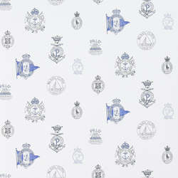 Signature Papers Wallpaper | Rowthorne Crest - Admiral | Wandbeläge / Tapeten | Designers Guild