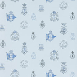 Signature Papers Wallpaper | Rowthorne Crest - Midshipman | Wall coverings | Designers Guild
