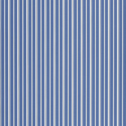 Signature Papers Wallpaper | Laurelton Stripe - Porcelain Blue | Wall coverings | Designers Guild