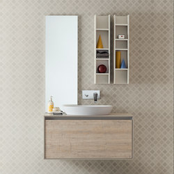 Summit 2.0 | Composition 02 | Bath shelving | Mastella Design