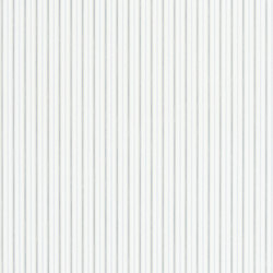 Signature Papers Wallpaper | Marrifield Stripe - Marrifield Stripe - Blue / Linen | Wallcoverings | Designers Guild