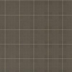 Signature Papers II Wallpaper | Egarton Plaid - Gunmetal Black | Wall coverings | Designers Guild