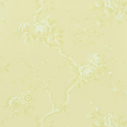 Signature Papers II Wallpaper | Ashfield Floral - Alabaster | Wall coverings / wallpapers | Designers Guild
