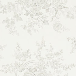Signature Papers II Wallpaper | Vintage Dauphine - Dove | Wall coverings | Designers Guild