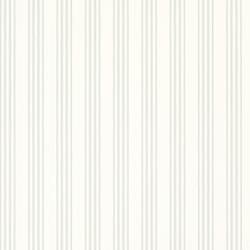 Signature Papers II Wallpaper | Palatine Stripe - Dove | Wandbeläge / Tapeten | Designers Guild