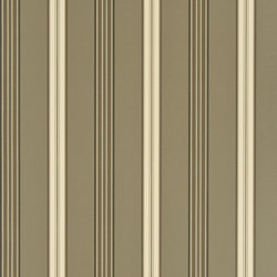 Signature Papers II Wallpaper | Dunston Stripe - Gunmetal | Wandbeläge | Designers Guild