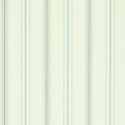 Signature Papers II Wallpaper | Dunston Stripe - Platinum | Carta da parati | Designers Guild