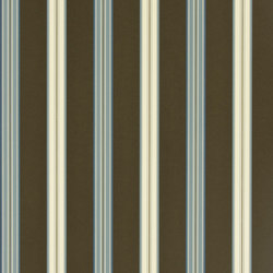 Signature Papers II Wallpaper | Dunston Stripe - Cerulean | Papiers peint | Designers Guild