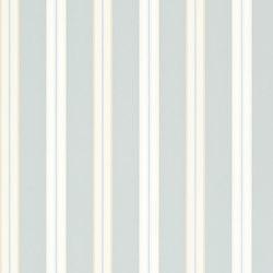 Signature Papers II Wallpaper | Dunston Stripe - Baltic Green | Wandbeläge / Tapeten | Designers Guild