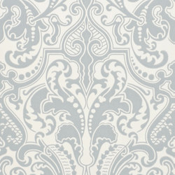 Signature Papers II Wallpaper | Gwynne Damask - Drawing Room | Wandbeläge / Tapeten | Designers Guild