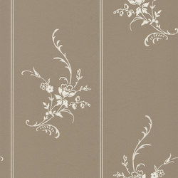 Signature Papers II Wallpaper | Elsinore Floral - Charcoal | Papeles pintados | Designers Guild
