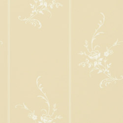 Signature Papers II Wallpaper | Elsinore Floral - Cream | Wall coverings | Designers Guild