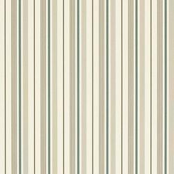Signature Papers II Wallpaper | Gable Stripe - Peacock | Wandbeläge / Tapeten | Designers Guild