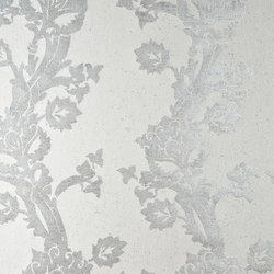 Basalt Fortuny Flower | Wall coverings / wallpapers | Arte
