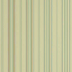 Stripes And Plaids Wallpaper | Allerton Stripe - Linen / Sage | Wall coverings | Designers Guild