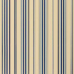 Stripes And Plaids Wallpaper | Allerton Stripe - Navy | Papiers peint | Designers Guild