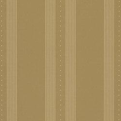Stripe Library Wallpaper   Tuxedo Club Stripe - Camel   Wall coverings   Designers Guild