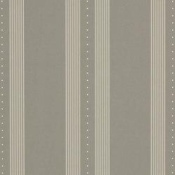 Stripe Library Wallpaper | Tuxedo Club Stripe - Grey | Wall coverings / wallpapers | Designers Guild