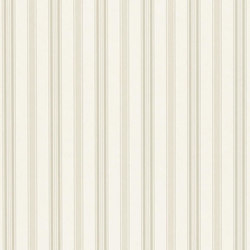 Stripe Library Wallpaper | Basil Stripe - Laurel | Carta da parati | Designers Guild