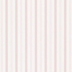 Stripe Library Wallpaper | Milland Stripe - Pink | Wall coverings / wallpapers | Designers Guild