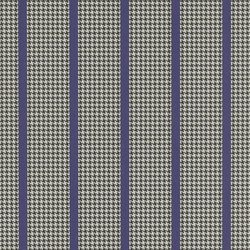 Stripe Library Wallpaper | Wellman Stripe - Purple / Black | Wandbeläge | Designers Guild