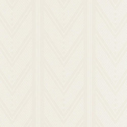 Stripe Library Wallpaper | Onyx Club Stripe - Pearl | Wandbeläge / Tapeten | Designers Guild