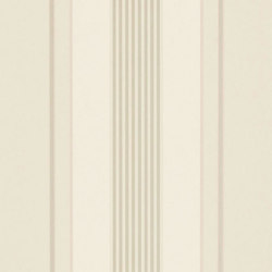 Stripe Library Wallpaper | Sterling Stripe - Mother Of Pearl | Wall coverings / wallpapers | Designers Guild