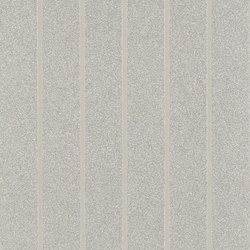 Stripe Library Wallpaper | Ellington Stripe - Sterling | Wandbeläge | Designers Guild