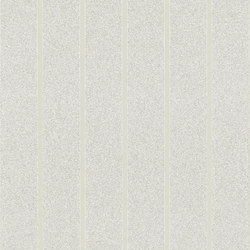 Stripe Library Wallpaper | Ellington Stripe - Cream | Carta da parati / carta da parati | Designers Guild