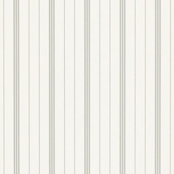 Stripe Library Wallpaper | Trevor Stripe - Grey | Papeles pintados | Designers Guild