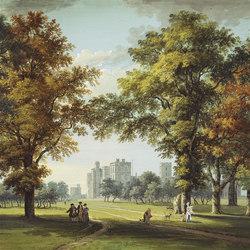 Buckingham Wallpaper | Great Park View - Moss | Wallcoverings | Designers Guild