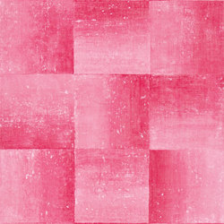 Savine Wallpaper | Piastrella - Magenta | Wall coverings | Designers Guild