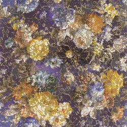 Savine Wallpaper | Zambelli - Cobalt | Revêtements muraux / papiers peint | Designers Guild