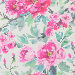 Shanghai Garden Wallpaper | Shanghai Garden - Peony | Wall coverings / wallpapers | Designers Guild