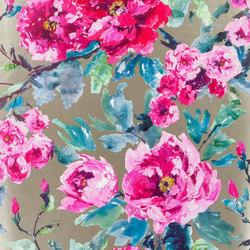 Shanghai Garden Wallpaper | Shanghai Garden - Fuchsia | Wandbeläge | Designers Guild