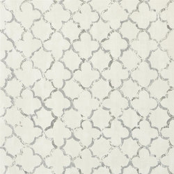 Shanghai Garden Wallpaper | Chinese Trellis - Slate | Wall coverings / wallpapers | Designers Guild
