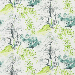 Shanghai Garden Wallpaper | Winter Palace - Lime | Wallcoverings | Designers Guild