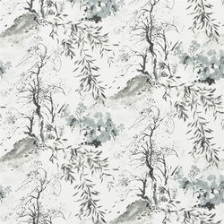 Shanghai Garden Wallpaper | Winter Palace - Graphite | Wall coverings | Designers Guild