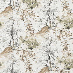 Shanghai Garden Wallpaper | Winter Palace - Ecru | Wall coverings / wallpapers | Designers Guild