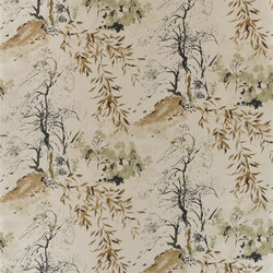 Shanghai Garden Wallpaper | Winter Palace - Bronze | Wall coverings | Designers Guild
