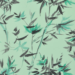 Shanghai Garden Wallpaper | Bamboo - Jade | Wall coverings / wallpapers | Designers Guild