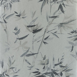 Shanghai Garden Wallpaper | Bamboo - Silver | Wall coverings | Designers Guild