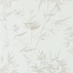 Shanghai Garden Wallpaper | Bamboo - Alabaster | Wall coverings / wallpapers | Designers Guild