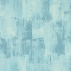 Shanghai Garden Wallpaper | Marmorino - Teal | Wallcoverings | Designers Guild